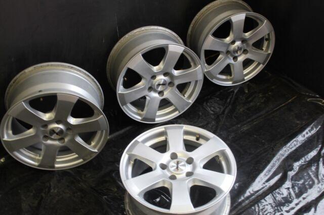 4 X Autec Baltic 7.5 X 16 5 X 112 35 brilliantsilber-lackiert Audi MB KBA:45914