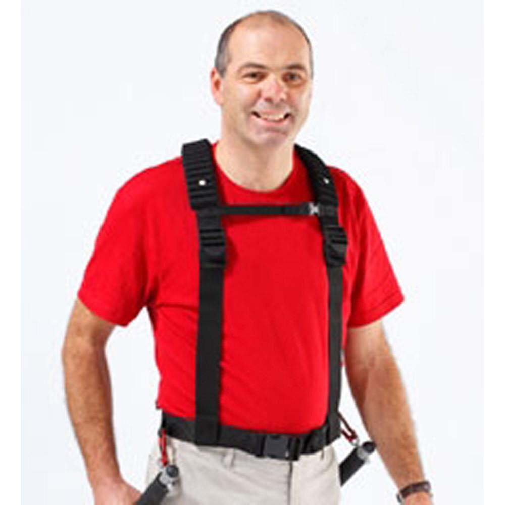 Baudrier avec bretelles bretelles bretelles pour la randonnée avec dénivelé important. 33e531