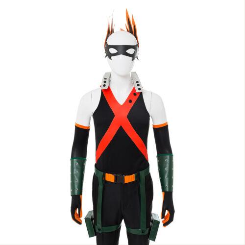 Cosplay My Boku no Hero Academia Akademia Katsuki Bakugou Battle Suit Costume