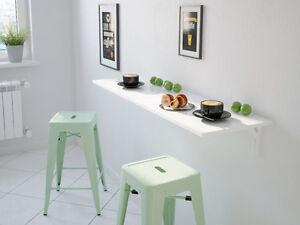 wandklapptisch nico klapptisch k chentisch klappbar schreibtisch wei hochglanz ebay. Black Bedroom Furniture Sets. Home Design Ideas
