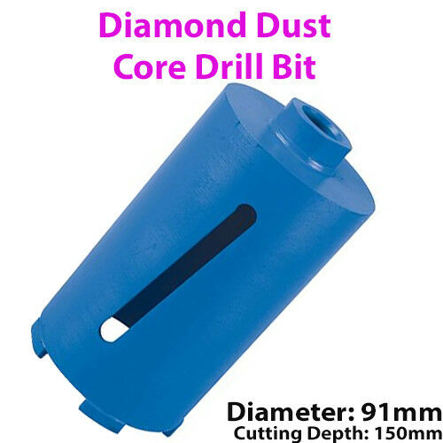 Brick Wall//Concrete Bloc DIAMOND CORE Drill Bit Hole Cutter * Select a Size