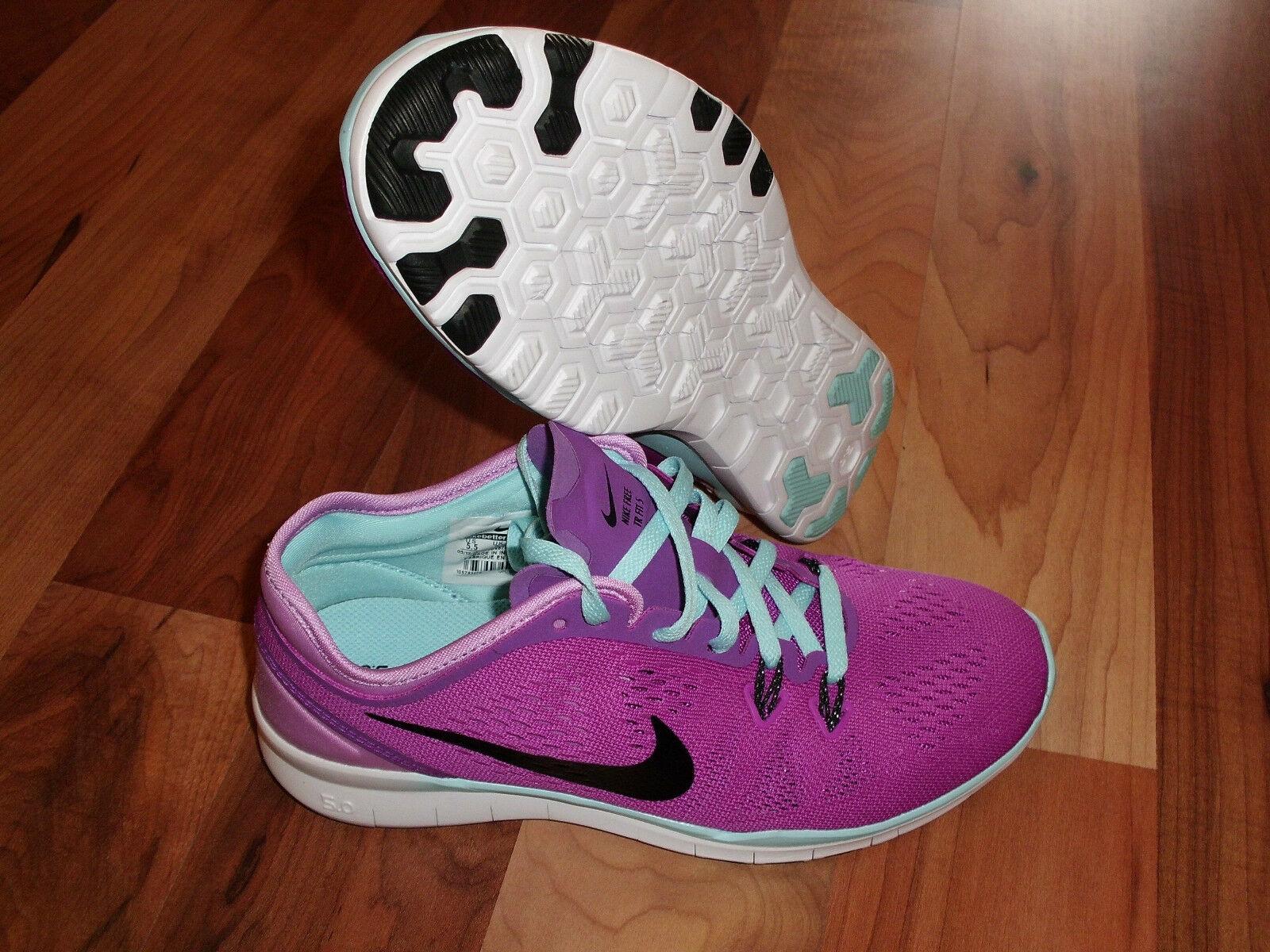 Nike Free 5.0 Tr Fit 5 Running Training violet noir 704674 500 femmes SZ 5.5