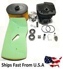Cylinder Kit Fits Husqvarna K970 Air Filter Bearings Cut Off Saws 56mm Bore