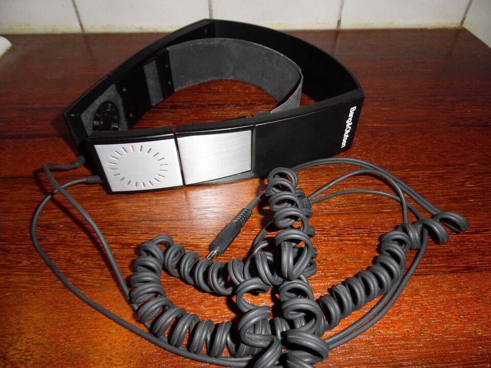 HiFi / DJ hovedtelefoner, B&O, Form 1