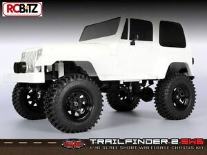 RC4WD-Trail-Finder-2-Truck-Kit-034-SWB-034-Short-Wheelbase-for-Tamiya-Jeep-Z-K0045-RC