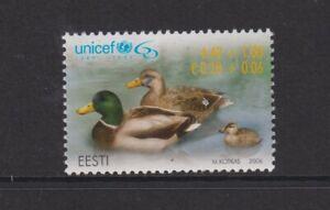Estonia - 2006, Unicef Anniversary, Ducks, Birds stamp - L/M - SG 525