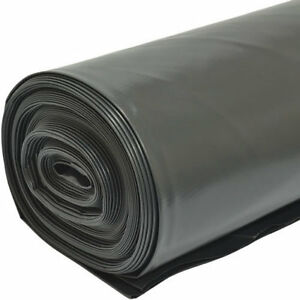 2M-X-25M-1000G-Black-Heavy-Duty-Polythene-Plastic-Building-Dust-Rubble-Sheet-DIY