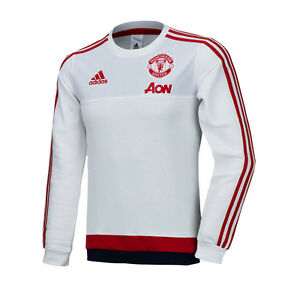 Adidas Manchester United Sweat Top Training Shirt Ai7351 Man Utd Soccer Football Men's Clothing