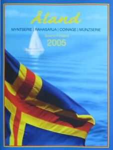 FIX2005.1 - SERIE FINLANDE - 2005 - Iles Aland - 1 cent à 2 euros
