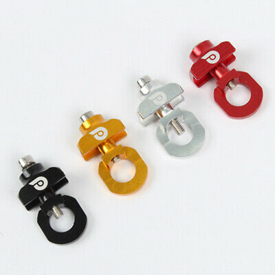 4pcs Bike Chain Tensioner Adjuster For Fixed Gear Single Speed Track Bicyc  je