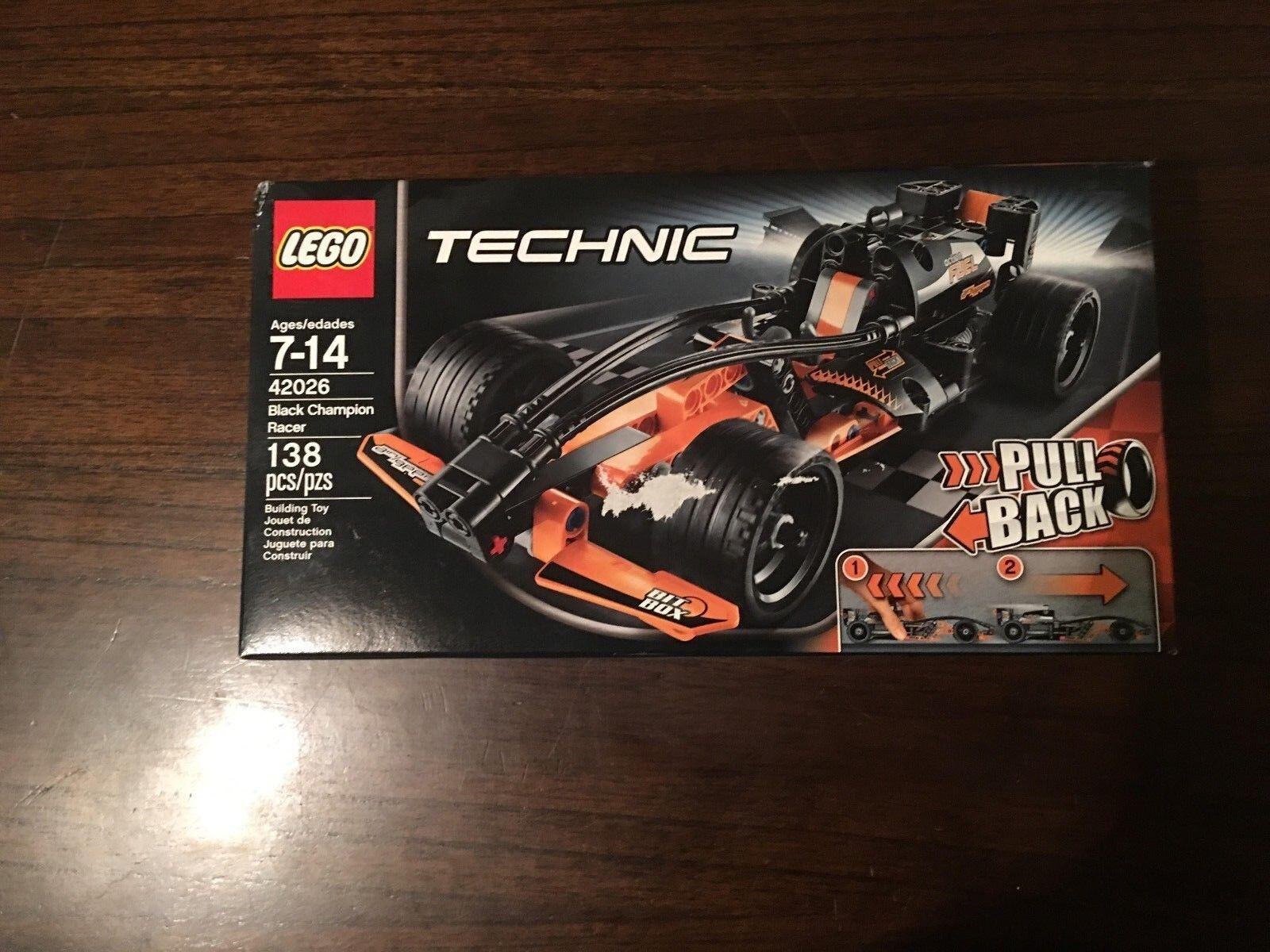 Lego  technic noir Champion Racer (42026)  prix bas discount