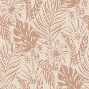 Rasch Jungle Leaf Wallpaper Blush Pink Rose Gold Metallic Botanical Tropical Ebay Discover the rich, leafy designs in our jungle & tropical wallpaper range. details about rasch jungle leaf wallpaper blush pink rose gold metallic botanical tropical