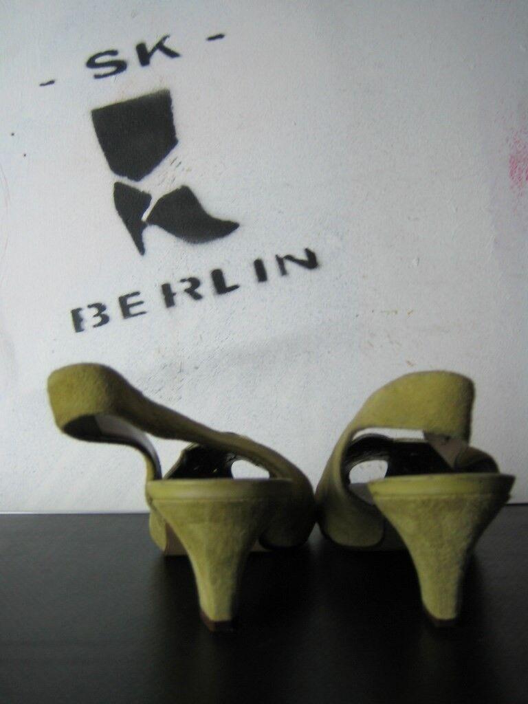 Damen Peep Toe Sandalen Brigitte Brigitte Brigitte von SERVAS made in Germany TRUE VINTAGE Pumps c1a27d