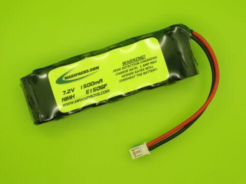 MADE IN USA 7.2V ELITE 1500 20 AMP BATTERY FITS LOSI MINI SLIDER LOSB0205
