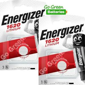 2-x-Energizer-1620-CR1620-3V-Lithium-Coin-Cell-Battery-DL1620-KCR1620-BR1620