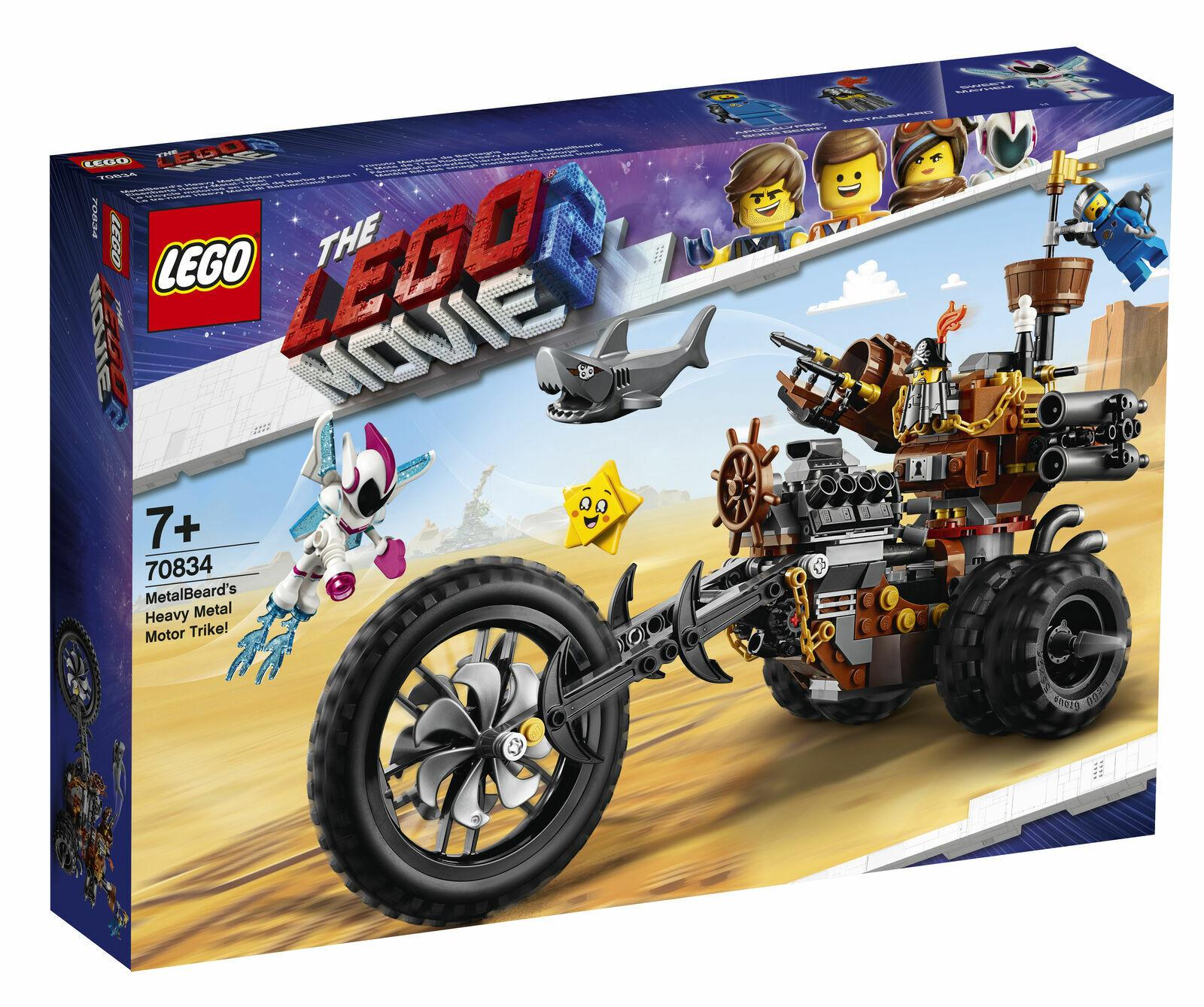 LEGO Metalorsod's  Heavy Metal Motor Trike Set (70834)  presa