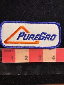 Vtg-PUREGRO-Farmer-Advertising-Patch-87NI