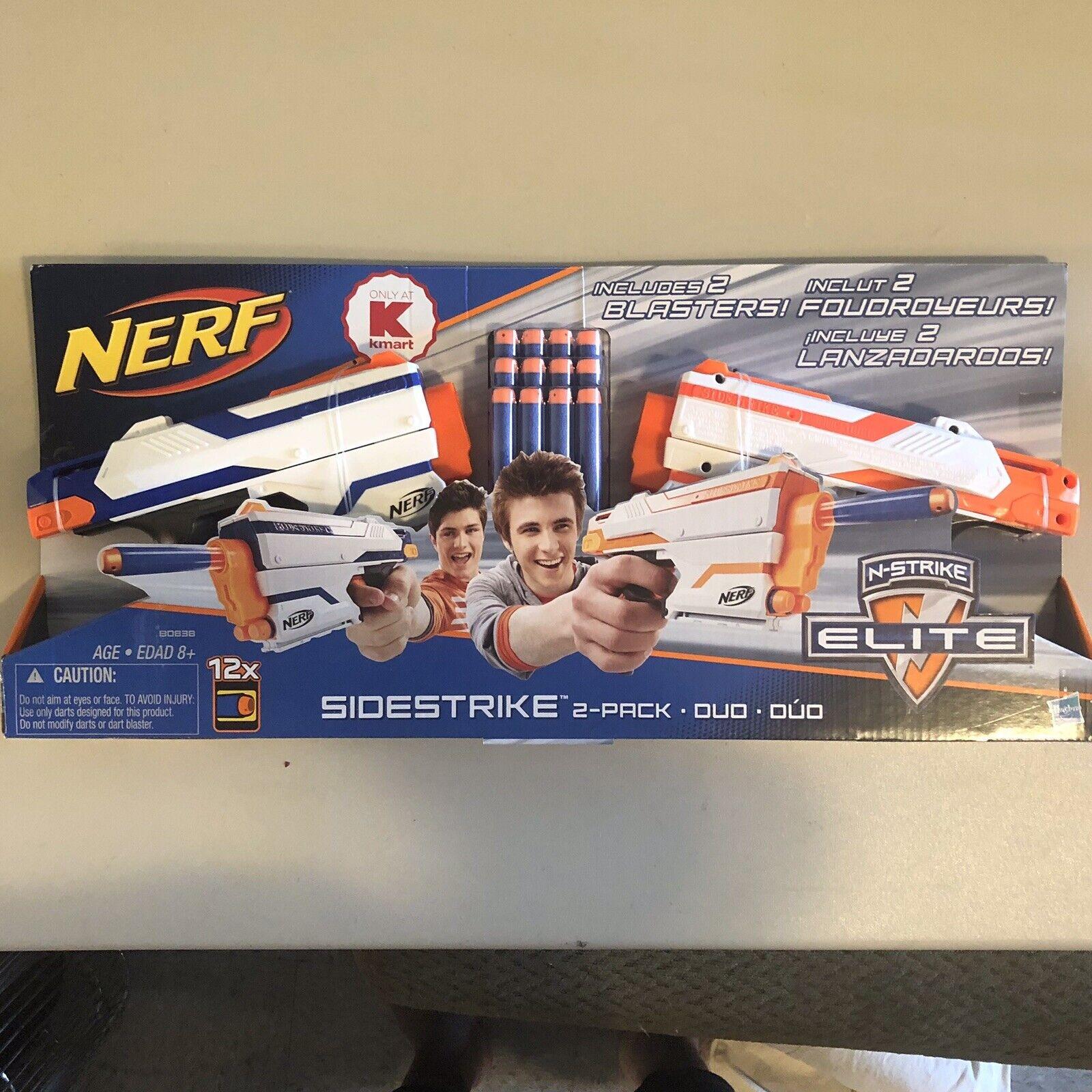 Nerf Pack 2 Strongarm Blaster comprend officiel 12 Nerf Elite Darts Garçons Filles
