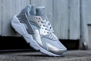 001 Le 3 Nike 2014 5 Us Premium 7 Huarache 8 Silver 683818 Metallic Sz 4 6 Uk fn1ZCqn