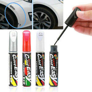 Details About Touch Up Pens Car Auto Scratch Repair Remover Paint Pen Black Silver White Red