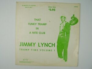 Jimmy Lynch - Tramp Time Volume 1 Vinyl LP Record Album