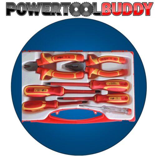 Vde tournevis et pince côté cutter set 1000V isolé 7PC