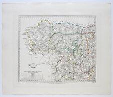 Sduk Mapa España me España 1831 publicado 1844