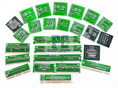 25pcs CPU socket PCI-E AGP DDR slot motherbard tester kit for laptop desktop