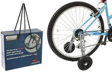 "AMMACO BICYCLE STABILISERS ADULT BIKE TRAINING AID WHEELS FITS 20"" TO 26"" WHEELS"