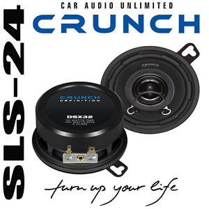 Crunch-DSX32-2-Wege-Lautsprecher-88mm-Boxen-100W-KOAXIAL-Boxen-CAR-Specker