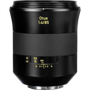 Brand New Carl Zeiss Otus Apo Planar T* 85mm F1.4 ZE Portrait Lens Canon EF Hood