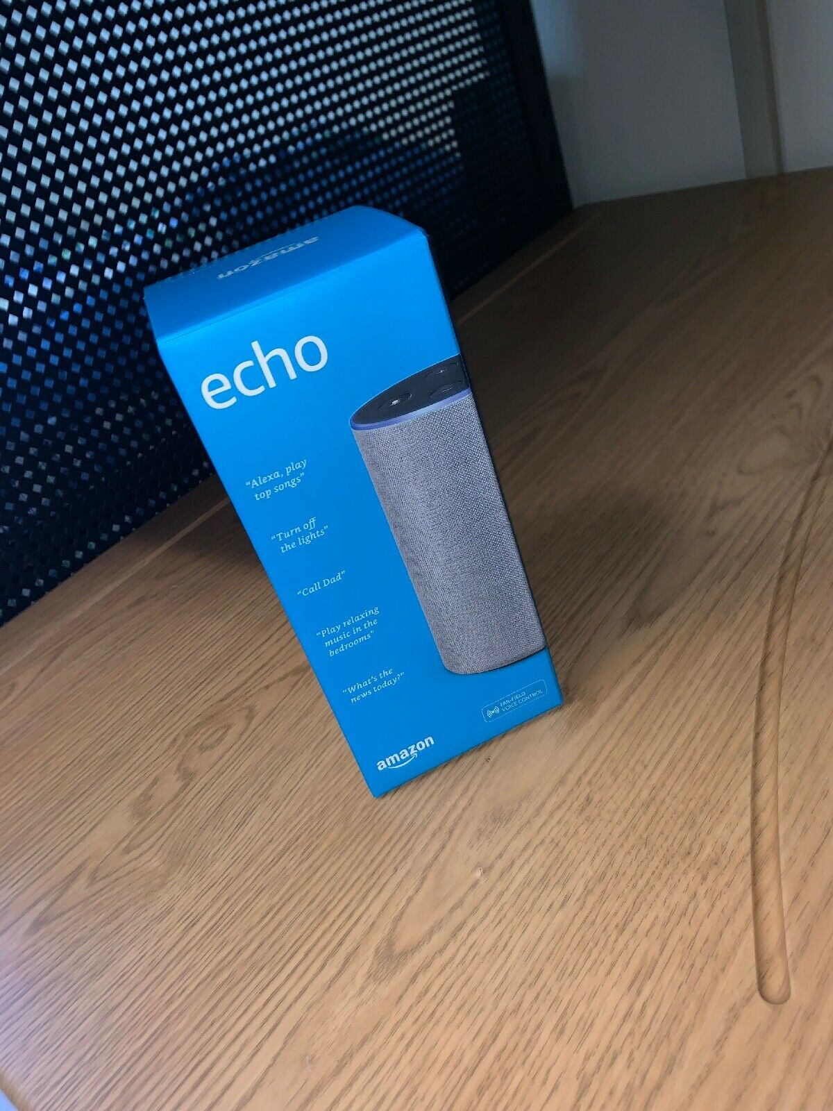 Amazon Echo 2nd Generation Brand New Retail Sealed Smart Assistant