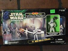 Star Wars POTF Cantina At Mos Eisley 3D Sandtrooper Patrol Droid Figure NEW 1998
