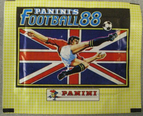 PANINI DE FOOTBALL 88 STICKER Paquet FIGURINE PANINI = 1 x Non Ouvert Paquet