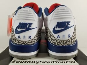 7e4d0c4dc0b1dc Nike Air Jordan 3 True Blue Size 9.5 With Receipt III White OG 2016 ...