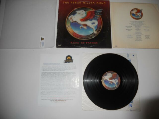 Steve Miller Band Book of Dreams '81 RCA Club EXC Press ULTRASONIC Clean
