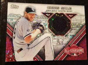 buy popular 596ad dbefc Details about CHRIS SALE 2015 Topps Chrome Update All-Star Stitches Card  Relic Work-Out Jersey
