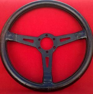 vintage momo abarth gt prototipo porsche steering wheel ebay. Black Bedroom Furniture Sets. Home Design Ideas