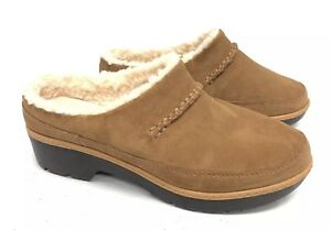 6068d6bf53b Details about UGG Australia Women's Lynwood Clog 1098749 Chestnut Shoes  Suede Shearling ~