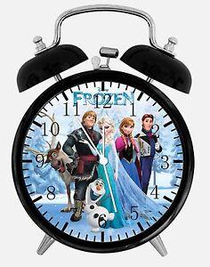 Disney-Frozen-Alarm-Desk-Clock-3-75-034-Home-Office-Decor-W470-Nice-For-Gift