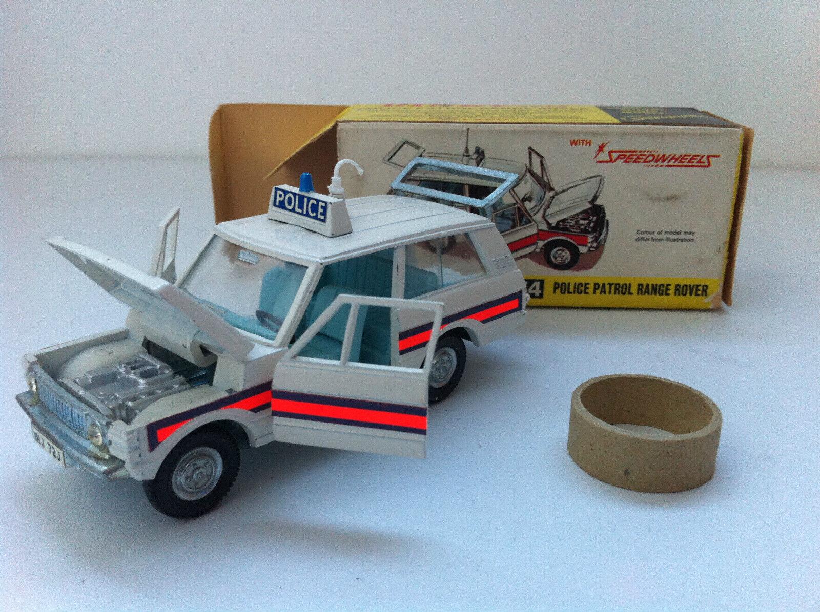 Dinky Toys - 254 - Range Rover Police patrol MINT + boîte d'origine