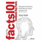 Studyguide for Introductory Econometrics for Finance by Brooks, Chris, ISBN 9781107034662 by Cram101 Textbook Reviews (Paperback / softback, 2014)