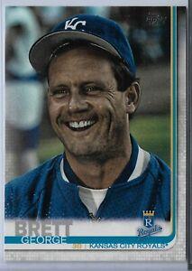 2019-Topps-Series-2-Baseball-Short-Print-Variation-George-Brett-690-KC-Royals