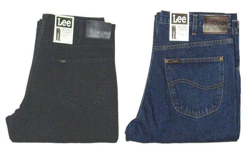 Lee Jeans Brooklyn Comfort W 32 33 34 36 38 40 42 44 New 100% Cotton