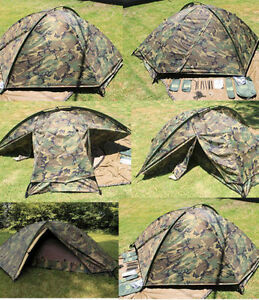 Image is loading Eureka-TCOP-camo-one-man-combat-tent-military- & Eureka TCOP camo one man combat tent military Army US Marine | eBay
