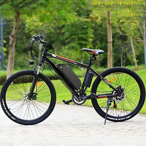 """500W 26"""" Electric Bike Mountain Bicycle Commuter Ebike Shimano 48V 15Ah Bikes"""