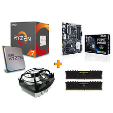 AMD Aufrüstset Ryzen 1700X, 16GB DDR4 3200 MHz - MB ASUS Prime X370-Pro + Kühler