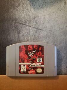 WWF Attitude \ Nintendo 64 N64 limpiado & probado Auténtico
