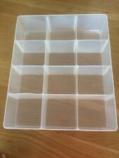 Really Useful DIVIDER 12 Tray 90X310X375MM Fits 35L Box Decoration Hobby Craft