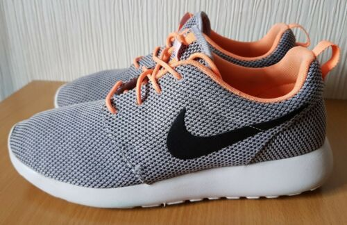 Chaussures Orange Uk Nike Gris Roshe Course De Taille 7 Run Baskets IqIwpzCO